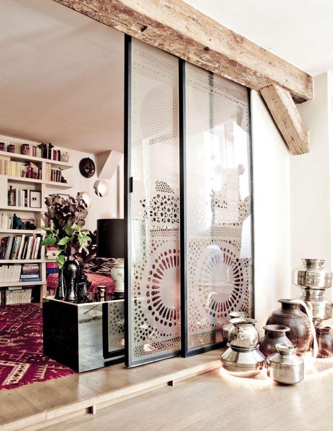 HappyModern.RU | Раздвижные межкомнатные двери (63 фото): комфорт и функциональность | http://happymodern.ru