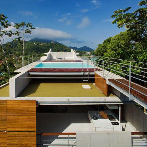 House In Ubatuba By Spbr