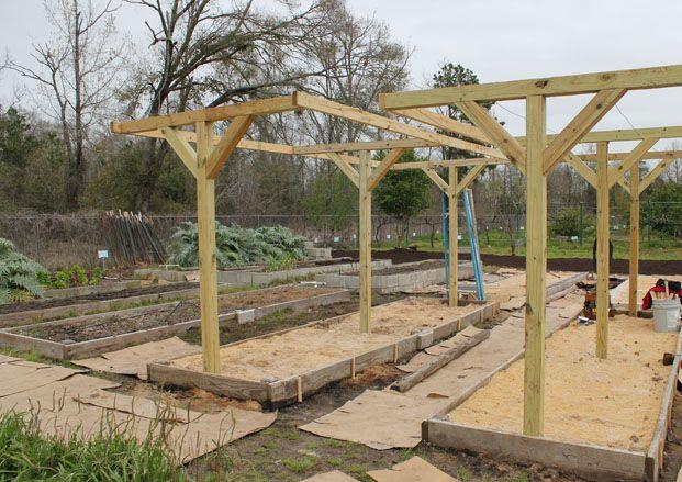Constructing a Mittleider Garden