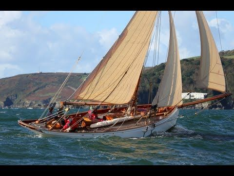 Classic yacht: new 43ft 1880s style gentleman's cutter Integrity. This is wh…