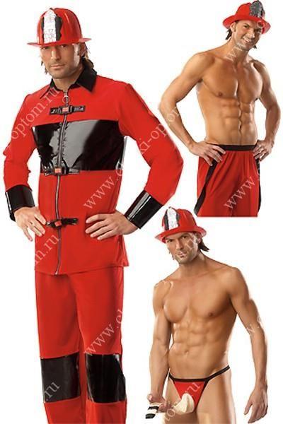 Ролевой костюм пожарника