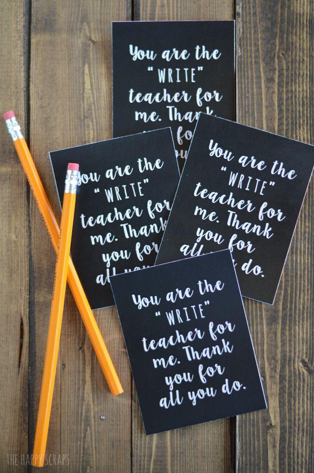 Teacher Appreciation Gift | Teacher appreciation gifts ...