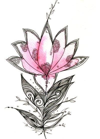 Superar dificuldades e seguiu com sua vida. A flor de lotus nasce onde ninguém imagina que terá vida.