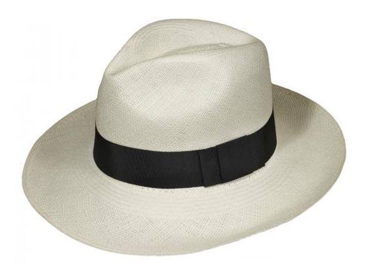 Pachacuti - Classic Panama Fedora In Black