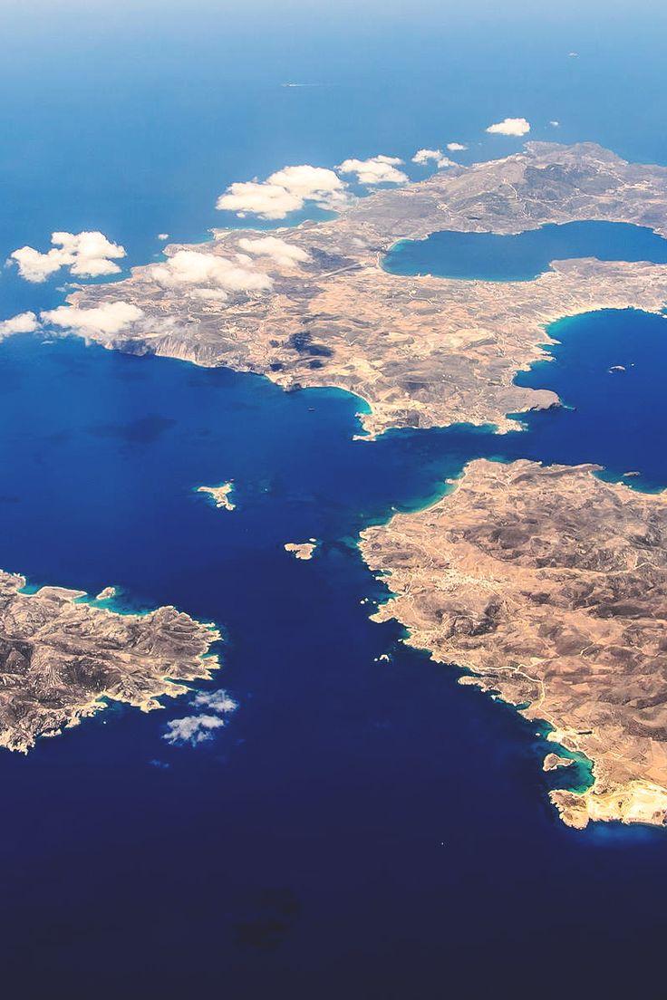 Milos, Polyaigos, Kimolos, Greece by Daniel Keller