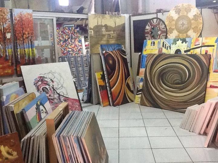 arte: Em Tela, Art Sul-Africana, Paint