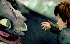 How To Train Your Dragon - Toothless it looks like toothless is crying.... oh now i'm crying!