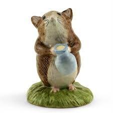 Beswick Beatrix Potter Figurine Timmy Willie Fetching Milk