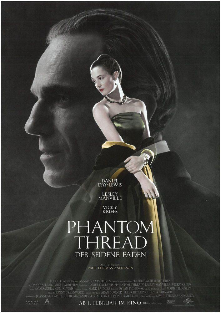 PHANTOM THREAD - DER SEIDENE FADEN - 2018 - ORIG. FILMPOSTER A4