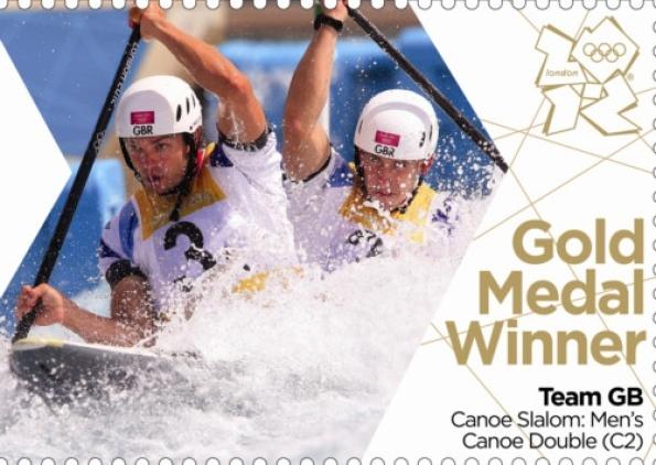 Team GB Gold Medal Winner Canoe Slalom: Men's Canoe Double