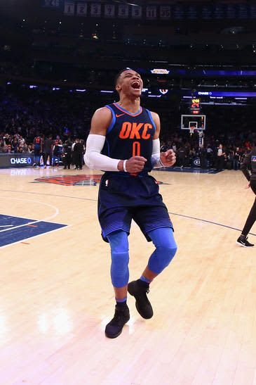 #WeAreThunder: Oklahoma City Thunder v New York Knicks