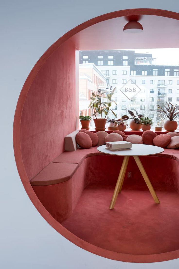Kvistad entwirft Büroräume im Stil eines skandinavischen Spaceships