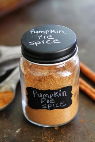 Pumpkin Pie Spice - Maria, on The Pioneer Woman, Ree Drummond (www.thepioneerwoman.com).