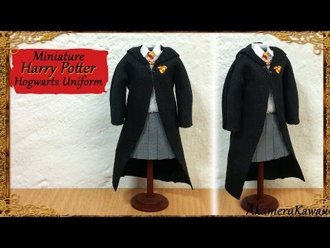 Miniature Harry Potter / Hogwarts inspired School Supplies - YouTube