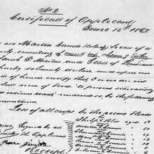 Freedmen's Bureau Project - Ration Application