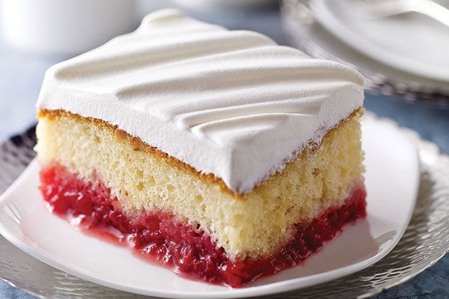 Enjoy a sweet summertime treat with this Raspberry Cake! Learn how to make this delightful concoction with fresh raspberries and fluffy marshmallows!