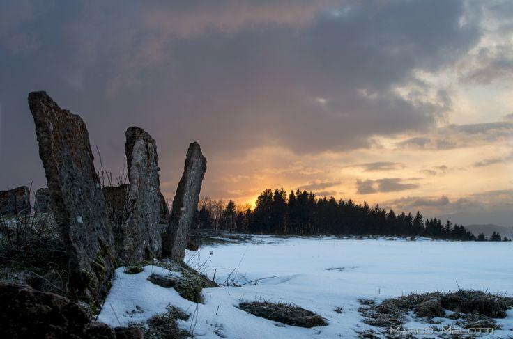 Tramonto di fine inverno