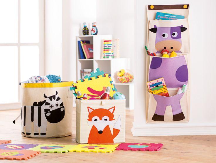 ¡Los juguetes de los niños jamás estuvieron tan ordenados como ahora! #Organización #Decoración #Infantil #YoAmoMiCasa