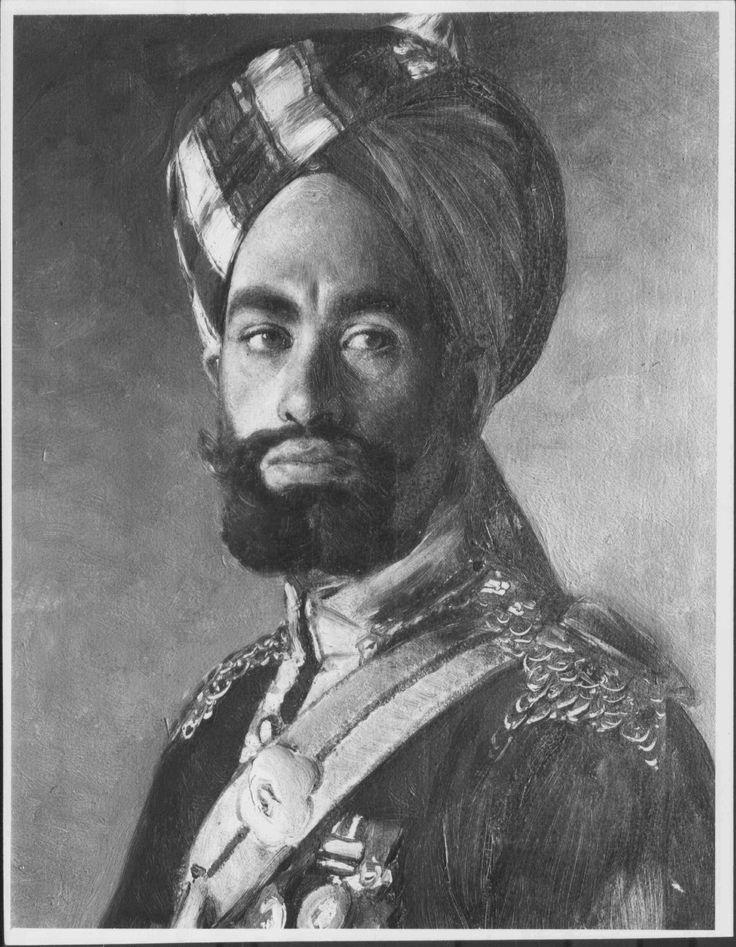 Rudolf Swoboda (1859-1914) - Risaldar-Major Ali Muhammad Khan, 2nd Bengal Lancers