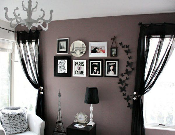 die besten 25+ lila grau zimmer ideen auf pinterest - Landhaus Wohnzimmer Lila Grau