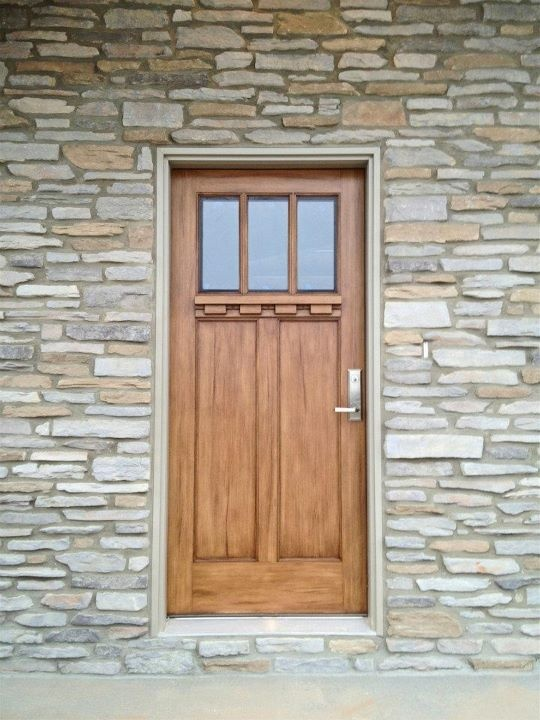 121 best unique home features images on pinterest home for Craftsman style front doors