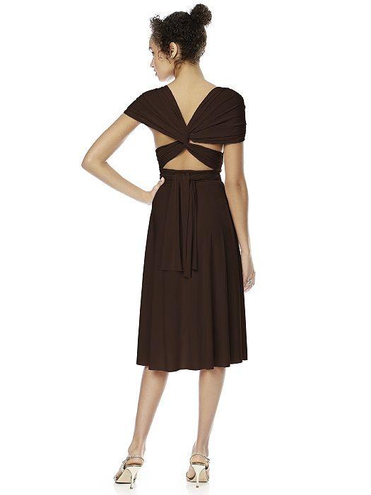 Twist Wrap Dress: Short http://www.dessy.com/dresses/twist-short/#.UvAC7_Y0AWU
