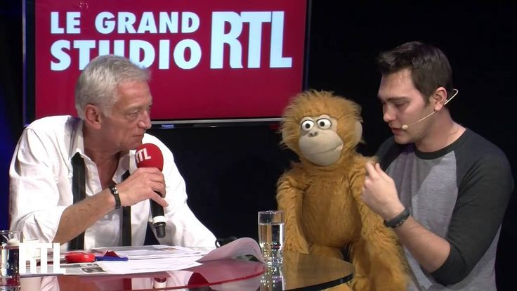 Jeff Panacloc dans le Grand Studio RTL Humour de Laurent Boyer.