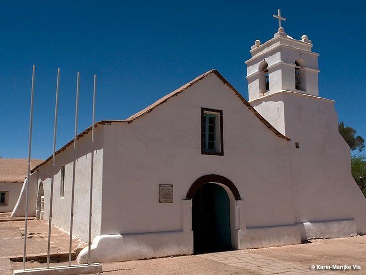 Church of San Pedro de Atacama, Atacama Desert - Karin-Marijke Vis