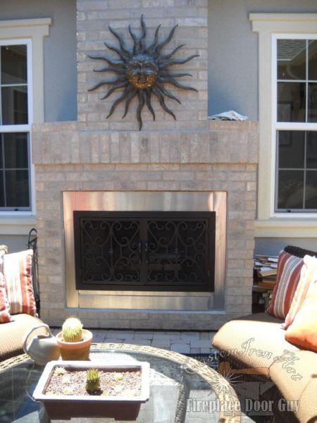 21 best outside doors images on pinterest fireplace doors