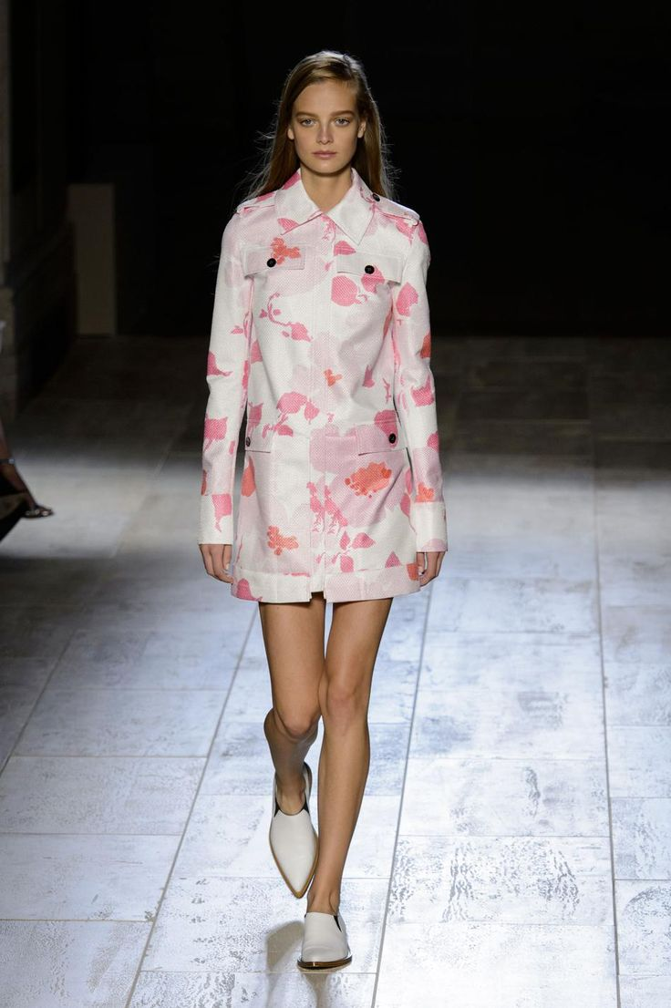 Défilé Victoria Beckham printemps-été 2015 Prêt-à-porter   Le Figaro Madame