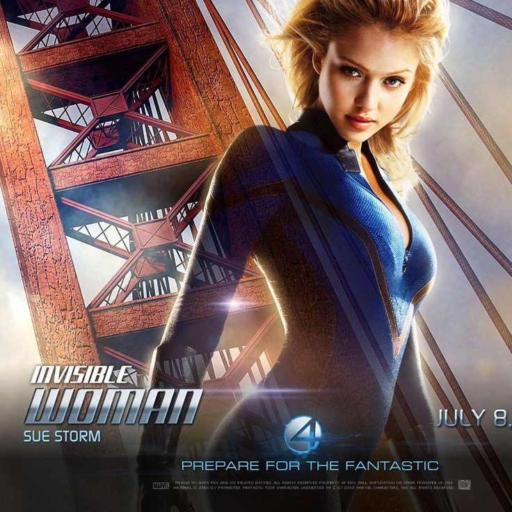 Fantastic Four 4 Huge Movie Posters & Banners  (Jessica Alba, Sue Storm Invisible Woman)
