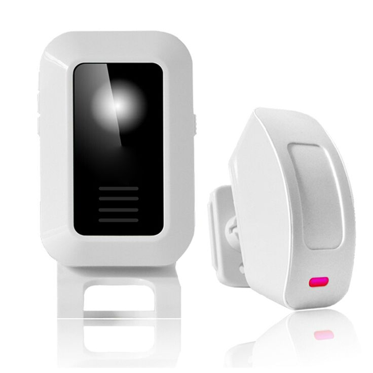 Intelligent Welcome Door Bell with 433mhz Wireless Doorbells, Wireless Digital Doorbell Wellcome Alarm