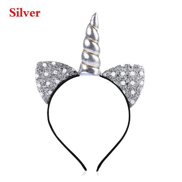 Unicorn Headband children girl/'s  Hair Hoop Party Accessories Cat ears Headwear