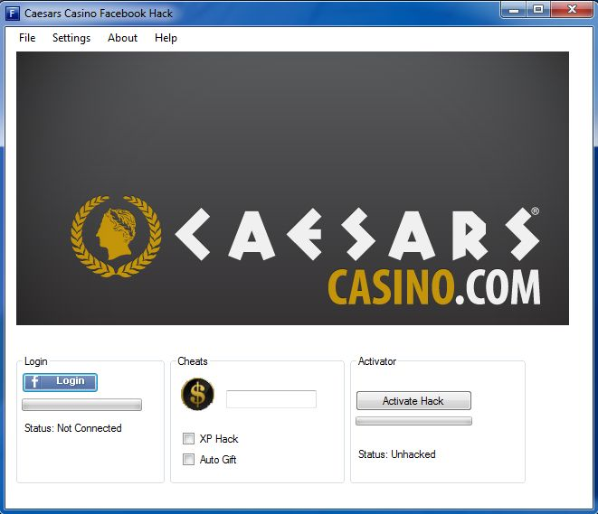 caesars casino on facebook cheats