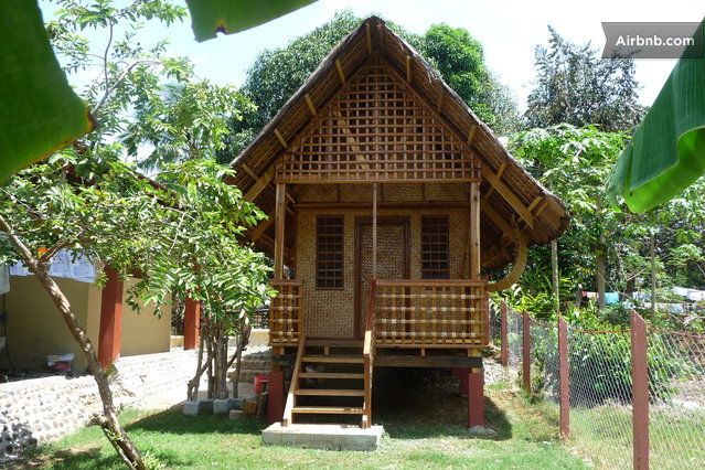 Bahay kubo nipa hut pinterest house design bamboo house and house for Philippines native house designs and floor plans