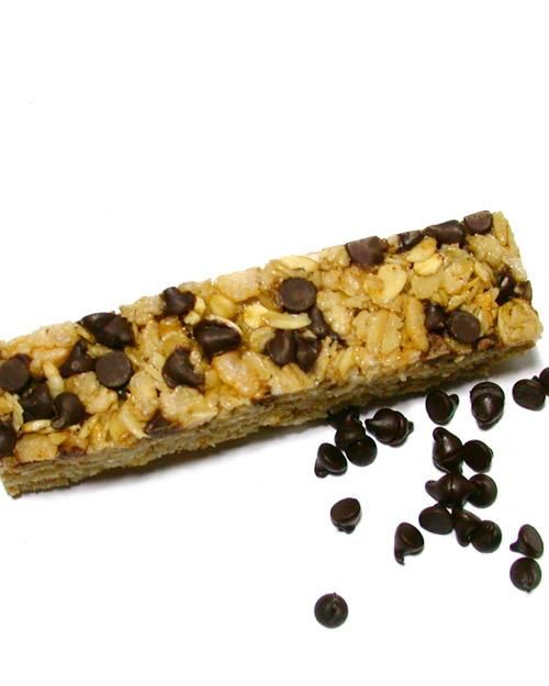 Nonuttin' Chewy Chocolate Chip Granola Bars Recipe-- Perfect after school snack