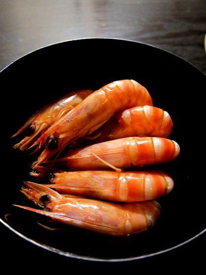 Photo: Japanese Drunken Shrimp, Sake-Steamed Prawn 酔っぱらい ...
