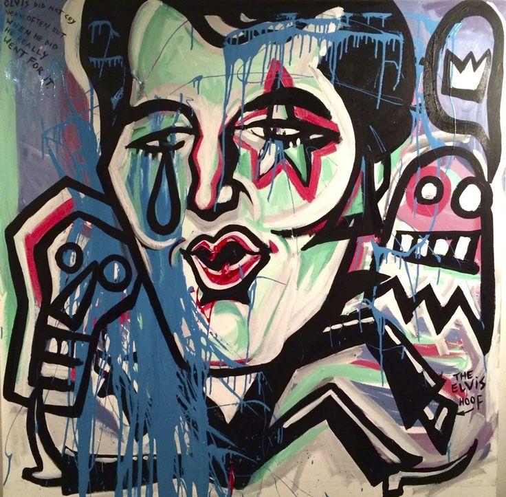 Noel Fielding painting