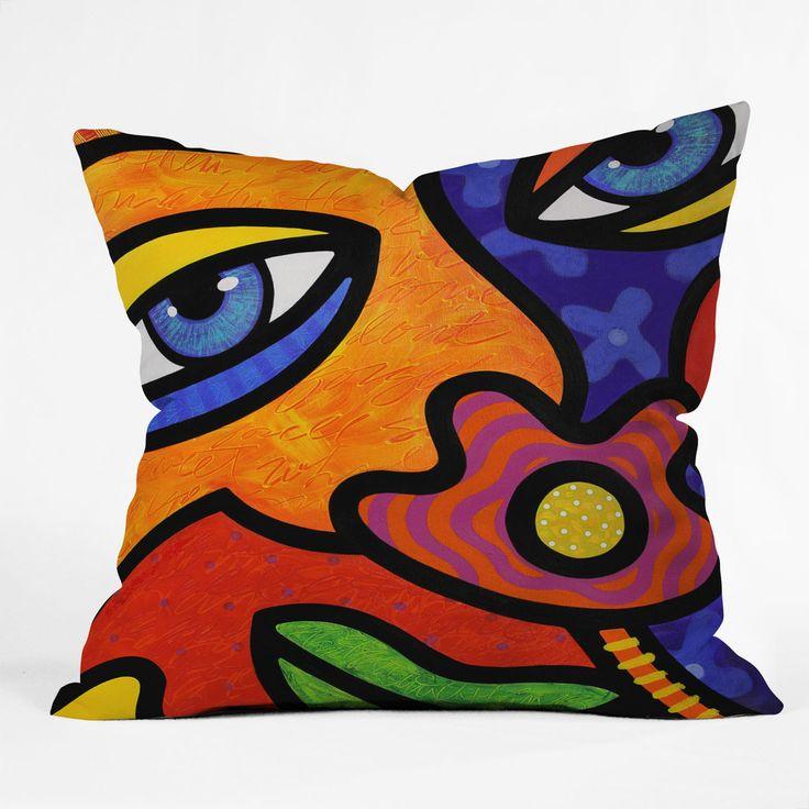 Steven Scott Lilli Lilligrin Throw Pillow | DENY Designs Home Accessories