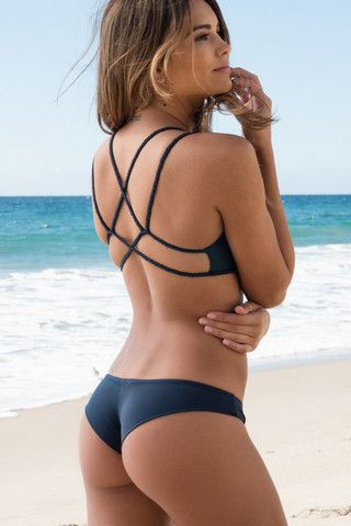 Frankie's Bikinis - Marina Bottom | Indigo | The Girl and The Water