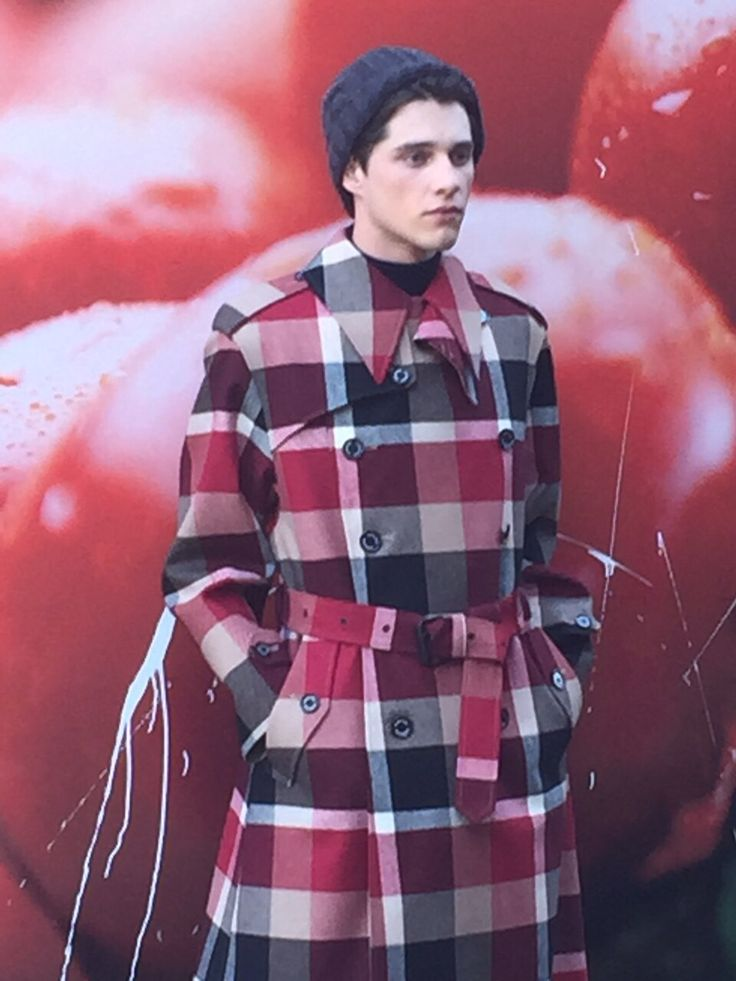 crestbridge check trench coat