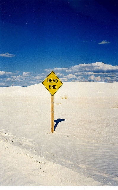 Dead End - White Sands, NM