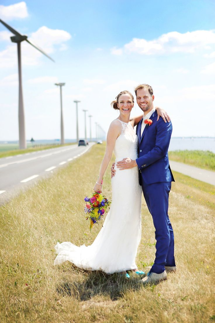 Arjan en Laureen | Bibifotografie#trouwen #trouwreportage #poseren #bruidspaar #shoot #trouwfoto #wedding #trouwfotograaf