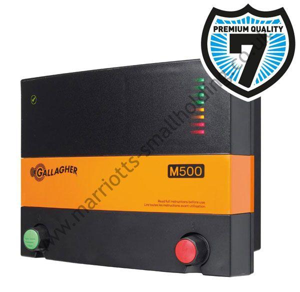 Gallagher M500 Mains Electric Fence Energiser 230v - £237.12 ex. VAT #Gallagher, #230V, #Energiser