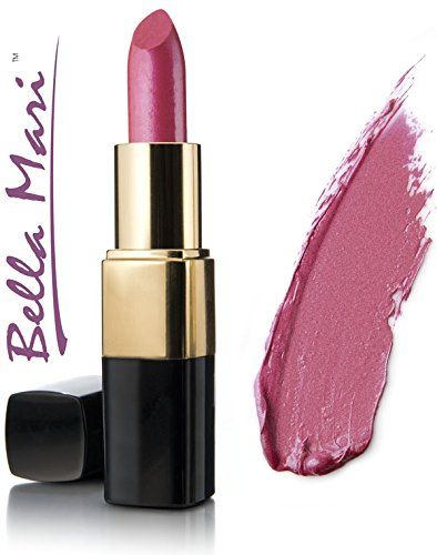 Bella Mari Natural Pink Pizzazz Shimmer Lipstick 4.5g. Free from petrochemicals. Cruelty-free, vegan and vegetarian. Free from synthetic dyes or flavoring. Phthalate free, paraben free, preservative free, Bismuth oxychloride free. Free from gluten, dairy, soy, corn, peanuts, tree nuts, carmine.