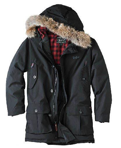 Woolrich Arctic Parka Mens Black Outlet