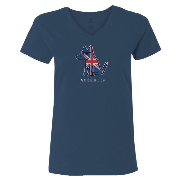 Solidarity for Manchester - Ladies T-Shirt V-Neck