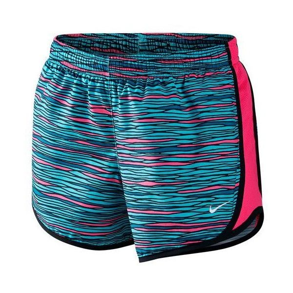 The fun Nike Girls Tempo Allover Print Short are great for any athletic activity. All over print gives these shorts a fun edge, while the comfortable style ensures the perfect match. The moisture-wicking Dri-FIT fabric is accented with an elastic waistband for the perfect fit with mesh side panels for great ventilation. An internal pocket at the back right waist offers a place to stash your phone after you leave the court. Built-in briefs offer support and comfort.