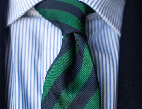 Stripes on Stripes. - #cravatte #cravatta #tie #ties