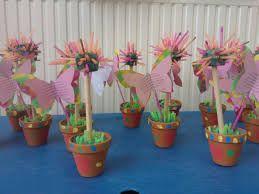 Afbeeldingsresultaat voor bloemen knutselen eerste kleuter
